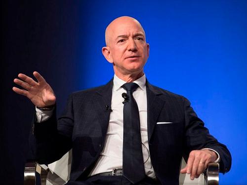 Le fondateur et P-DG d'Amazon