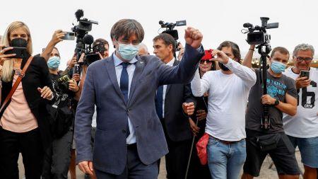 L'ex-président de la Generalitat, Carles Puigdemont, a été libéré et pourra retourner à Bruxelles. Photo: lavanguardia