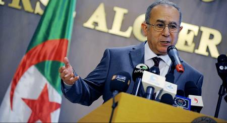 Ramtane Lamamra, vice-Premier ministre algérien et chef de la diplomatie © AP Photo / Sidali Djarboub