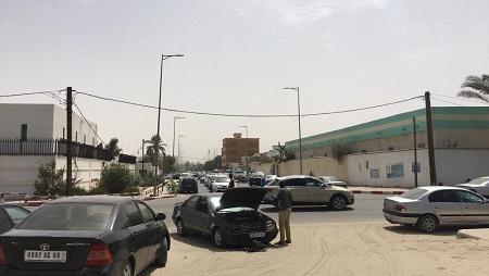Une rue de Nouakchott, en Mauritanie, en juin 2019. © RFI/Paulina Zidi