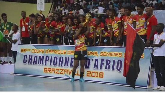 L'Angola remporte la finale de la Can féminine de Handball.