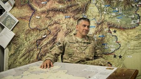 Le général Stephen Townsend, commandant de l'Africom depuis juillet 2019 (image d'illustration). © BRENDAN SMIALOWSKI / AFP