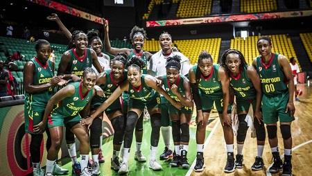 Les Camerounaises ont remporté leur premier match durant l'Afrobasket 2019, en écrasant les Tunisiennes 95-53. Courtesy of FIBA