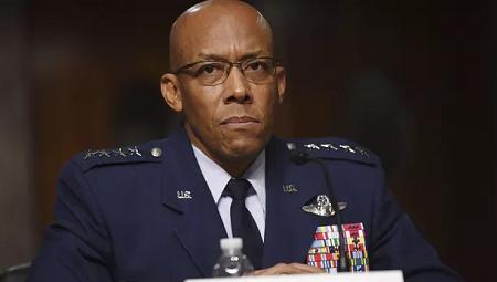 Le général Charles Brown Jr. KEVIN DIETSCH / AFP
