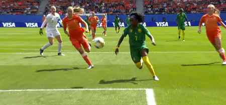 Coupe du monde 2019,  les Pays-Bas contre le Cameroun