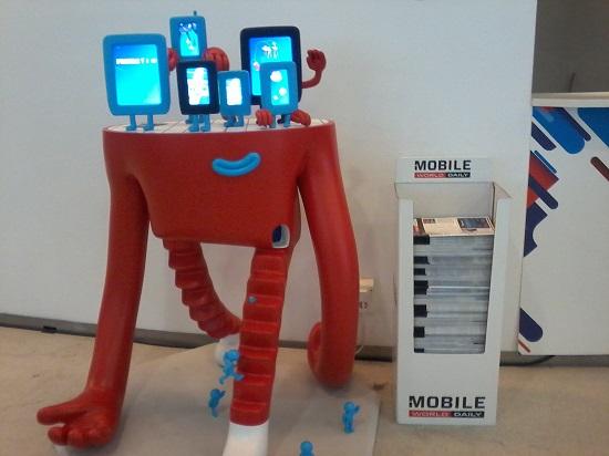 Huawei, Sony, LG, Nokia, One Plus et Samsung présenteront presque certainement au Mobile World Congress (MWC).Photo:WCM 2018 à Barcelone .Tinno-Illustration