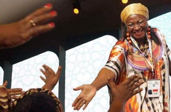 Célestine KETCHA COURTÈS, Maire de Bangangté, née à Maroua, ministre de l'Habitat et du Développement urbain.Photo: Africa24monde