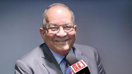 Ahmad Allam-Mi, ancien ministre des Affaires étrangères du Tchad, secrétaire général de la CEEAC. © RFI/Sébastien Bonijol