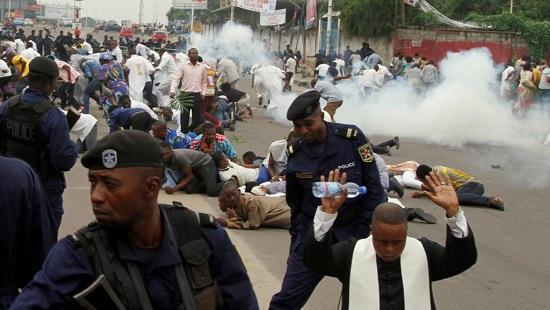 Kinshasa le 21 janvier 2018. © REUTERS/Kenny Katombe