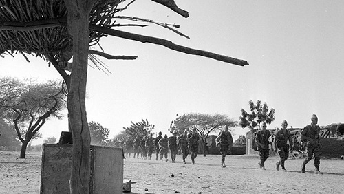 Opération «Limousin», Tchad, 1970. © © RP. Bonnet/ECPAD