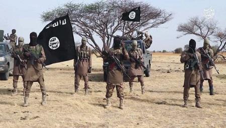 Les insurgés de la secte Boko Haram ont hissé le drapeau noir bariolé de l'Etat islamique à Kamouna