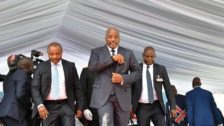 L'ancien président de la RDC, Joseph Kabila, reste influent sur la vie politique de son pays. © TONY KARUMBA / AFP