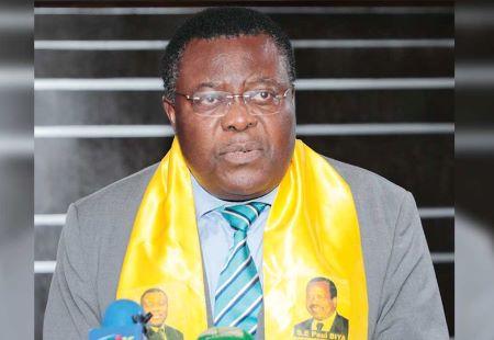 Jean de Dieu Momo, ministre camerounais délégué auprès du garde des Sceaux. © MABOUP