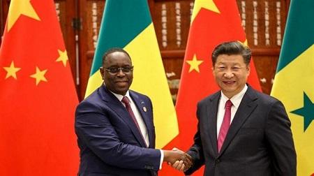 Les présidents, Macky Sall et  xi jinping