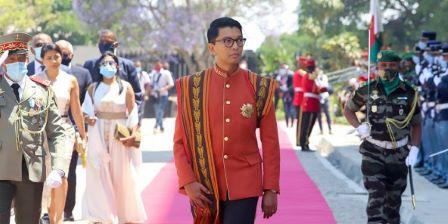 Le président Andry Rajoelina
