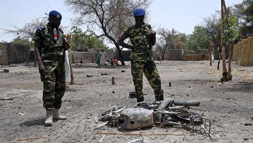 Les environs du lac Tchad sont régulièrement la cible d'attaques de Boko Haram, comme ici à Ngouboua, en avril 2015. (Image d'illustration) © AFP PHOTO / PHILIPPE DESMAZES