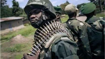 Les forces de l'ordre congolaises