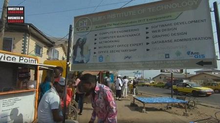 Buea,  capitale de la région du Nord-Ouest Cameroun