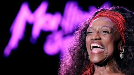 Jessye Norman, photographiée lors du festival de Montreux en juillet 2010. REUTERS/Denis Balibouse