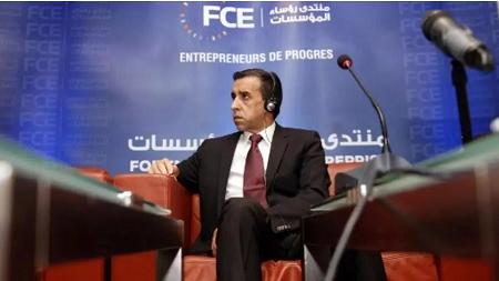 Ali Haddad, ancien président du FCE, l'organisation patronale algérienne, a été condamné à 12 ans de prison ferme. RYAD KRAMDI / AFP