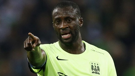 L'Ivoirien Yaya Touré. Reuters / Carl Recine Livepic