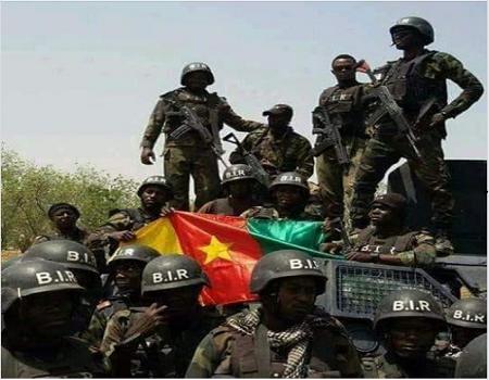 Des militaires camerounais de la force d'intervention anti-Boko Haram