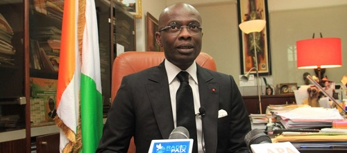 Richard Adou, procureur de la République d'Abidjan