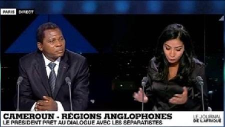 Paul Atanga Nji sur France 24 vendredi 17 mai