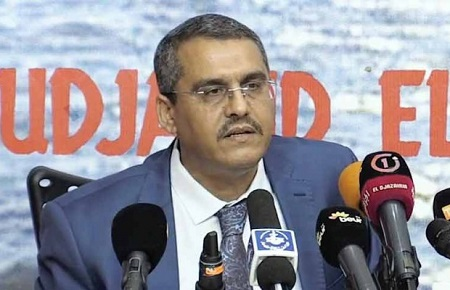Le président et directeur général de Sonatrach, Toufik Hakkar