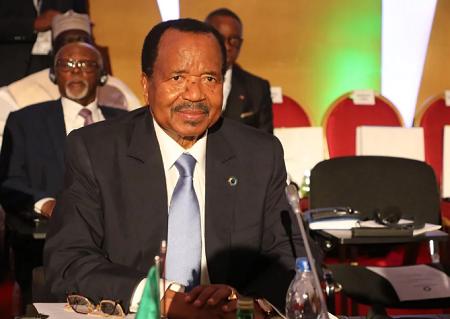 Paul Biya, chef de l'État camerounais ( AFP)
