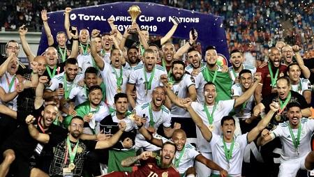 L'Algérie, vainqueur de la CAN 2019 en Egypte. RFI/Pierre René-Worms
