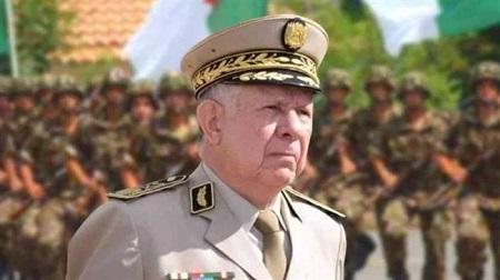 Le chef d'état-major par intérim de l'armée algérienne, le général Said Chanegriha. (Photo d'archives)