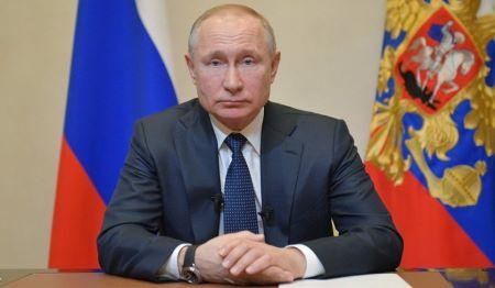 Le chef du Kremlin, Vladimir Poutine © Sputnik . Alexeï Droujhinine