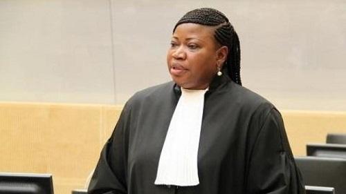 Fatou Bensouda, La procureure de la cour pénale internationale (CPI). ICC-CPI