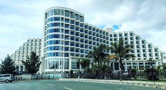 L'inauguration du premier des deux «hôtels jumeaux» de la compagnie aérienne nationale de l'Éthiopie est prévue pour le 26 janvier prochain à Addis-Abeba