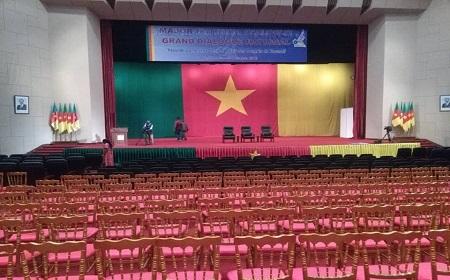 Le GDN (grand dialogue national) s'ouvre ce matin au Palais de congrès de Yaoundé,. Photo: Tinno