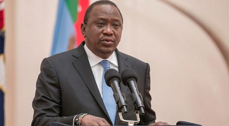 Le président kényan, Uhuru Kenyatta
