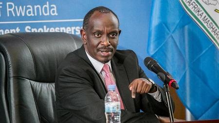 Le ministre des Affaires étrangères rwandais Richard Sezibera, ici le 5 mars 2019. © Cyril NDEGEYA / AFP