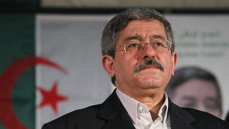 L'ancien Premier ministre algérien Ahmed Ouyahia. © Louafi Larbi / Reuters