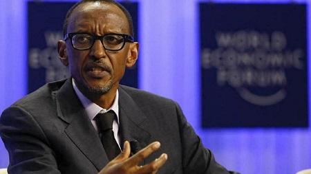 Le dirigeant rwandais, Paul Kagame