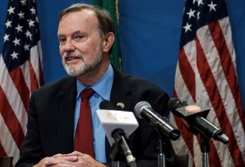 Le secrétaire d'Etat adjoint des Etats-Unis pour les Affaires africaines , Tibor Nagy, à Addis-Abeba le 30 novembre 2018. © EDUARDO SOTERAS / AFP