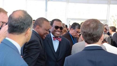 Le président de la Banque Africaine de développement,  Akinwumi Adesina