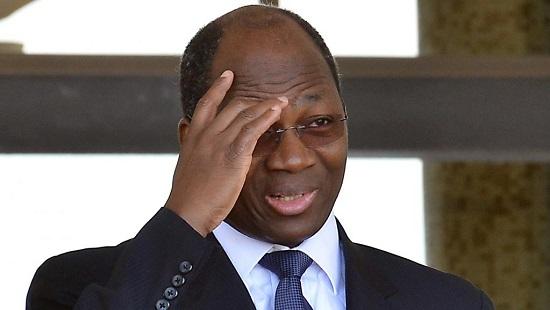 Djibrill Bassolé, lorsqu'il était ministre des Affaires étrangères du Burkina Faso, le 4 octobre 2013, à Ouagadougou. © AFP PHOTO / AHMED OUOBA AHMED OUOBA / AFP