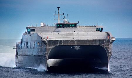 Le bateau militaire américain « Usns Carson City » fait son apparition au port autonome d'Abidjan