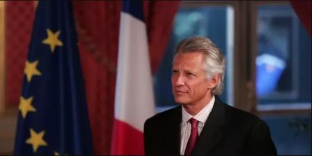 Galouzeau de Villepin Dominique, ancien Premier ministre sous la présidence de Chirac