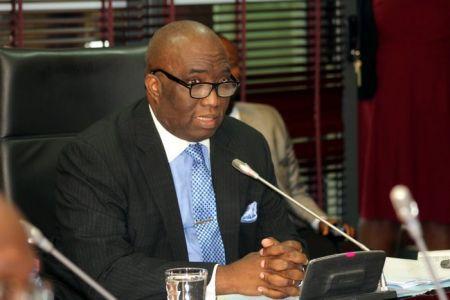 Joe Ghartey, le ministre ghanéen des chemins de fer