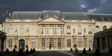 L'Hôtel de Soubise à Paris abrite les Archives nationales. Wikipedia