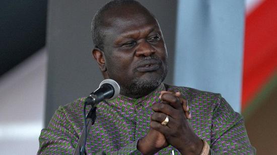 Le dirigeant rebelle du Soudan du Sud, Riek Machar