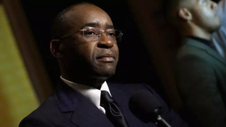 Strive Masiyiwa en novembre 2015 à New York. Jemal Countess/Getty Images International Rescue Committee/AFP