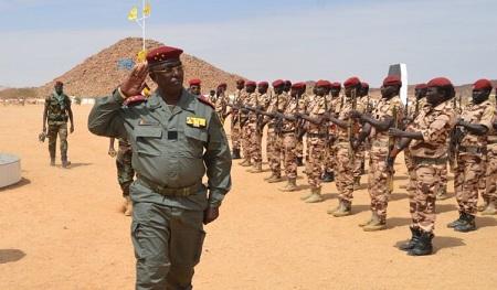 Le nouveau chef d'état-major, Abakar Abdelkarim Daoud, 52 ans, est un proche du président Idriss Déby Itno